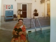 Helen TITUS (Tyghter) holding Dixie