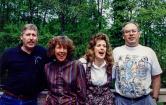 David, Linda, Betsy, Matt HARTMAN (brothers/sisters)